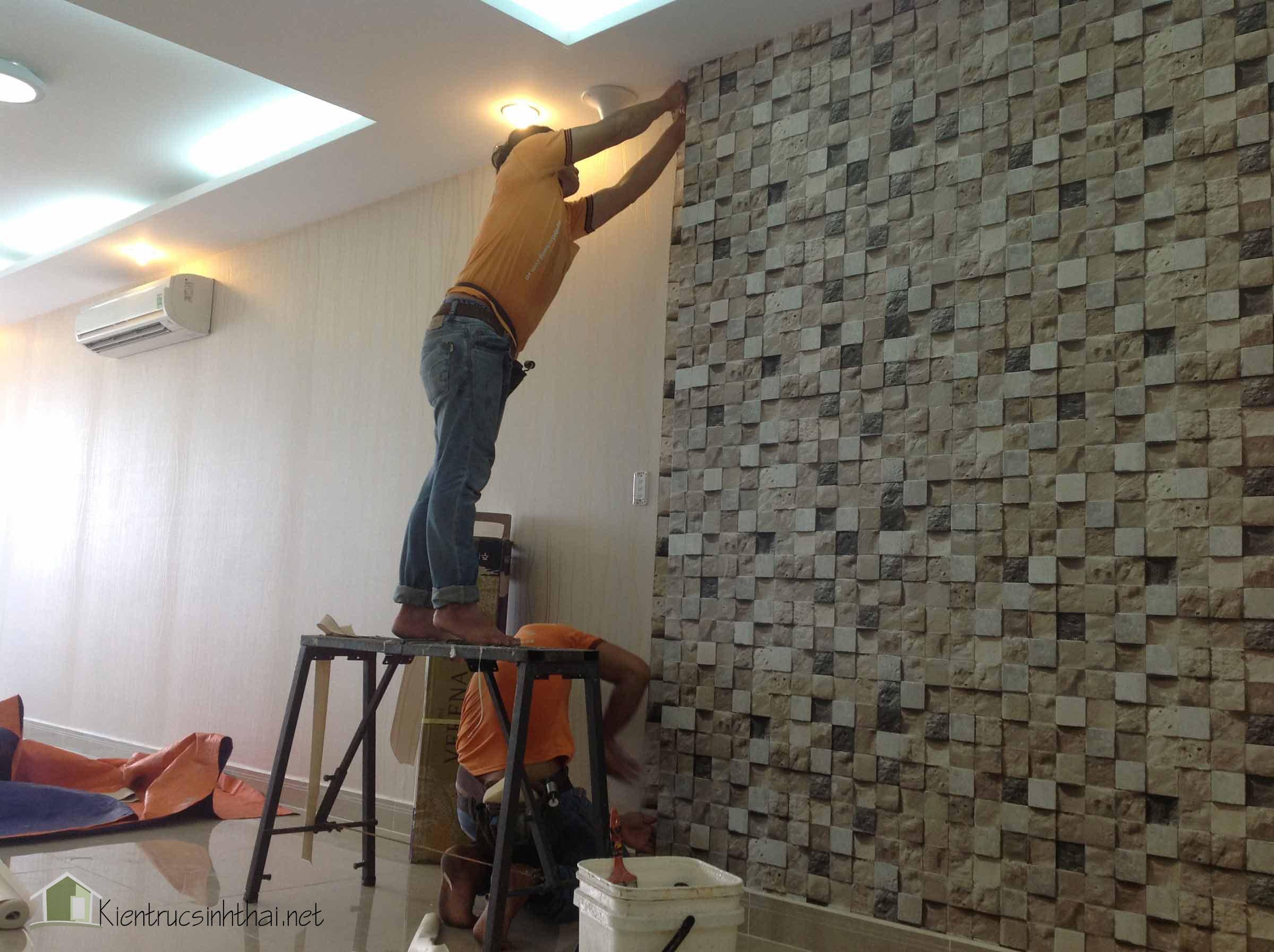 thợ dán tường NND